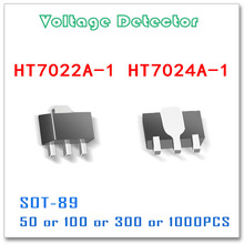 SOT 89 HT7022 HT7024 50PCS 100PCS 300PCS 1000PCS Tolerância 3% Detector De Tensão Alta qualidade Original HT7022A 1 HT7024A 1