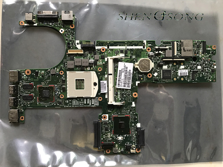 все цены на Free Shipping 613296-001 for HP 6450b 6550B Motherboard HM57 Laptop Motherboard 100% Full Tested онлайн