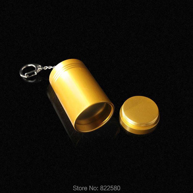 Портативный жесткий удаления тегов. роскошные золотые алюминиевый сплав eas магнит Портативный цилиндрический Detacher 10 шт./лот