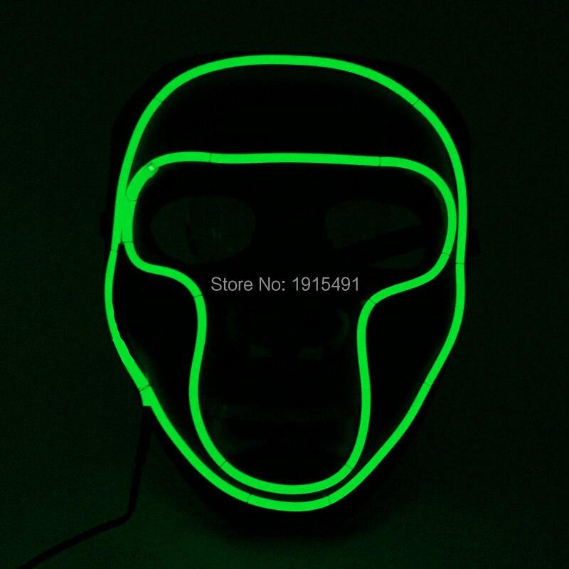 Hot sale Masquerade decor Жарқын EL Cold Light Маскасы - Мерекелік жарықтандыру - фото 3