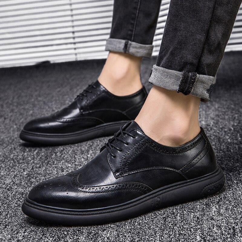 Couro Os Sapatos E Nova Lace Gray Respirável De Masculinos Cinza Confortável Preto Sapato Baixos Primavera Para dark Homem Casual Homens 2019 Black Moda Up Verão PzRdIxIwq