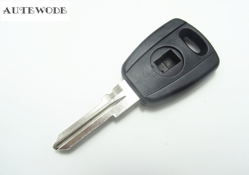 AUTEWODE New Replacement transponder shell case cover fob fits for Fiat NO CHIP AUTO PARTS accessories 1pc