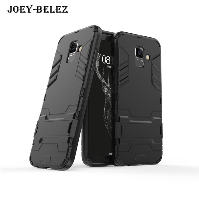 online retailer f2a10 ca8f1 US $2.51 30% OFF|For Samsung Galaxy A6 Plus 2018 Cases Shockproof Hard PC  Armor Silicone Back Phone Cover For Samsung A6 2018 case Coque Housing-in  ...