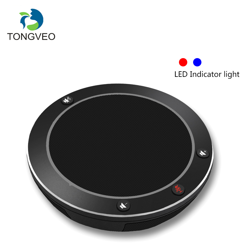 TONGVEO NA100 USB Speakerphone For Tele/Video Conference Face Time And Calls Conference Call Speaker For Skype Webinar Phone