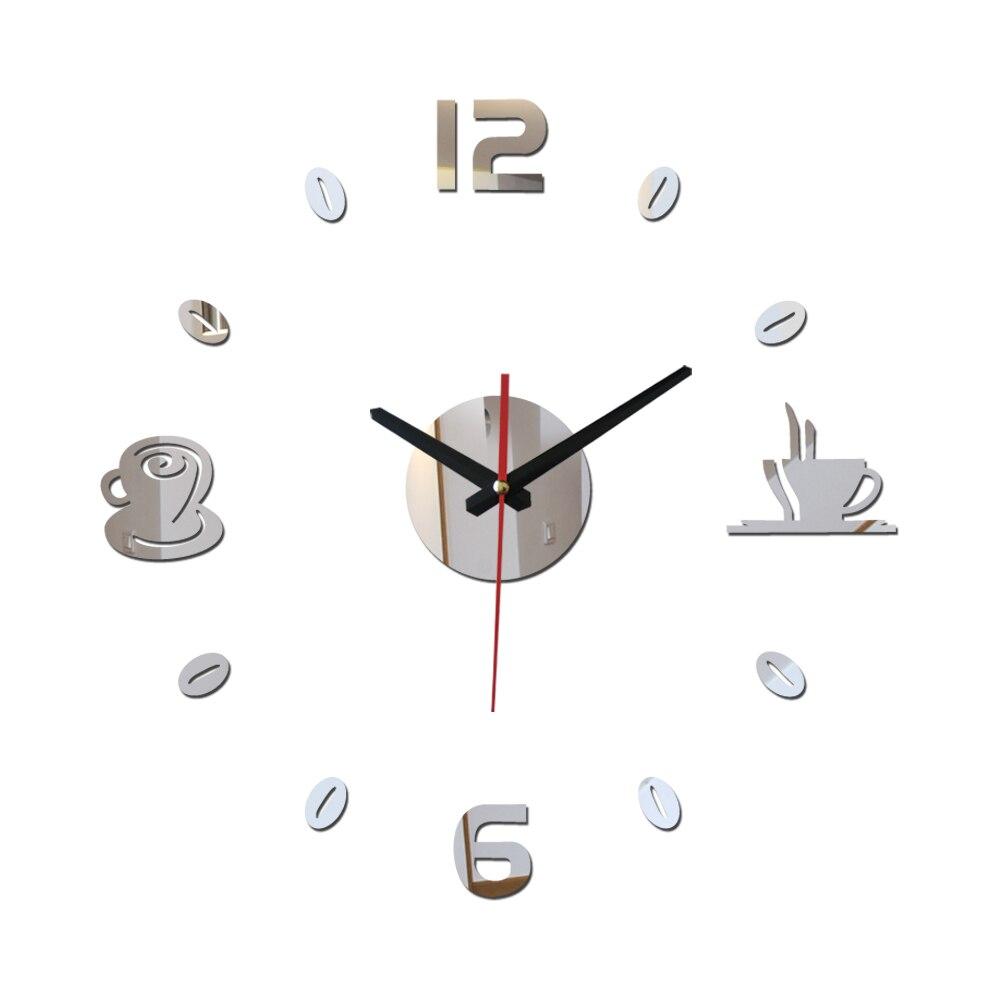 New diy wall clock watchesmodern living europe large for Immagini orologi da parete moderni