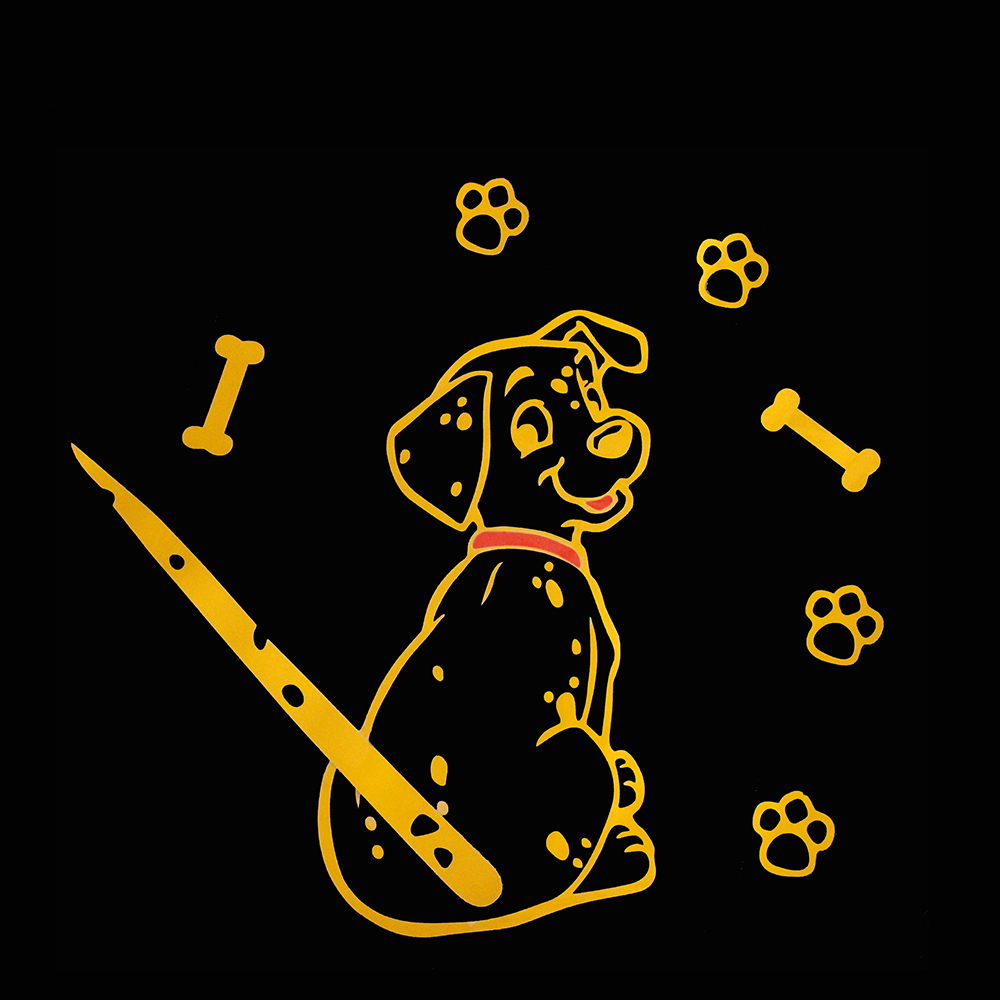 Image 3 - KAWOO Fashion Car Cartoon Animal Sticker Moving Tail Cute Puppy Dog Auto Stickers Reflective Car Styling Rear Wiper Decals-in Car Stickers from Automobiles & Motorcycles