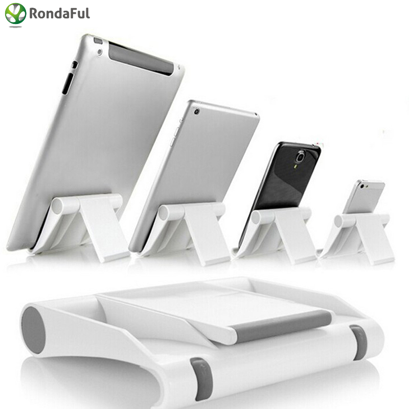 Multifunction Rotary Tablet PC Smartphone Stand Foldable Mobile Phone Mount Universal Phone Holder for iphone 6 7 Samsung