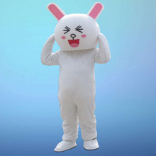 Rabbit Mascot costume Bugs Hare Easter Adult cosplay costumes Cakes Professional Christmas Costume