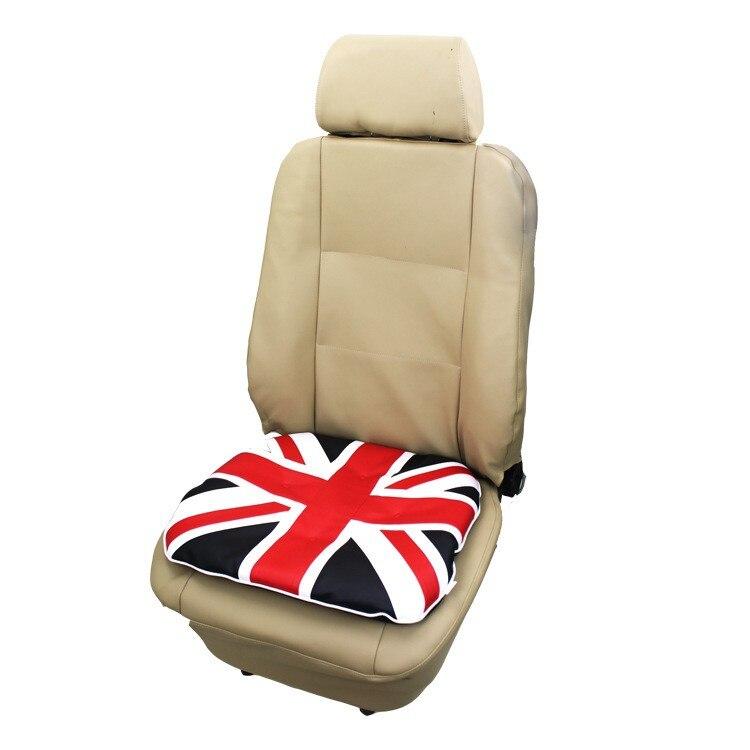 UK British Flag Printed Car Seat Front Cushion Dustproof Protectors