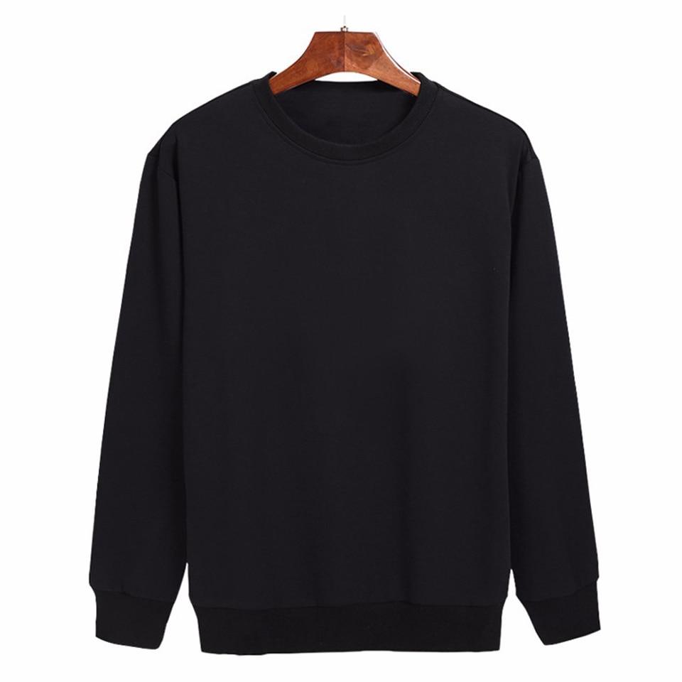 2018 Solid Hoodies men/women Fashion Warm Solid Men's Hoodies And Sweatshirt With Hip Hop Streetwear Plus size Clothes XXXXL
