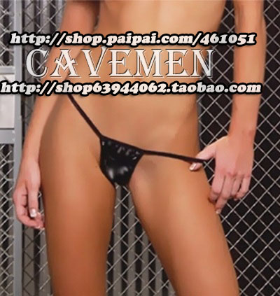Buy Leatherwear Furs *1411*Ladies Thongs G-string Underwear Panties Briefs T-back Swimsuit Bikini Free Shipping