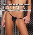 Leatherwear and Furs *1411*Ladies Thongs G-string Underwear Panties Briefs T-back Swimsuit Bikini Free Shipping