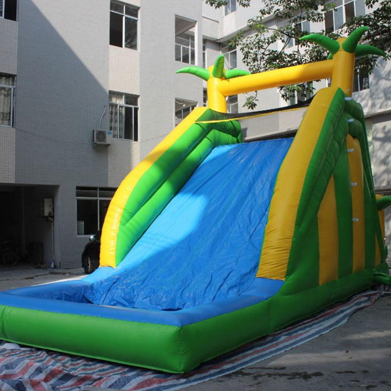 comercial al aire libre gigante tobogn inflable para adultos y nios interesante tobogn de la