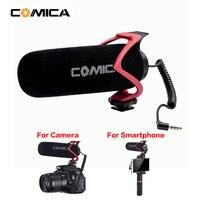 Comica On Camera Video Microphone VS Rode MicVideo Go Shortgun Mic for iPhone Samsung Huawei DSLR Camera Nikon Canon Pentax Fuji