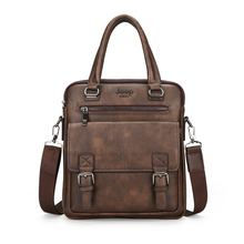 Men's Business Split Leather Bag