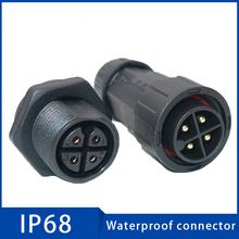 1pc Waterproof Connectors IP68 Automotive Cable Aviation Plug 2 3 4 5 6 7 8 9 10 11 12 14 Pin Male Female Connector