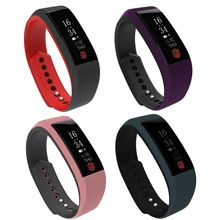 W808S Smart Bracelet Waterproof Sports Wristband with Heart Rate Monitor Pedometer Bluetooth Fitness Tracker for iPhone Android