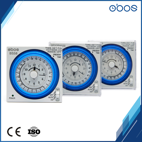 US $22 85 49% OFF|120v small size mechanical type time timer small  footprint time switch with 96 times on /off per day minimum set unit 15  mins -in