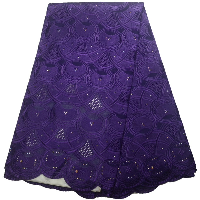 Free shipping (5yards/pc) high quality purple Swiss voile lace fabric soft African cotton lace fabric for party dress   CLP89Free shipping (5yards/pc) high quality purple Swiss voile lace fabric soft African cotton lace fabric for party dress   CLP89