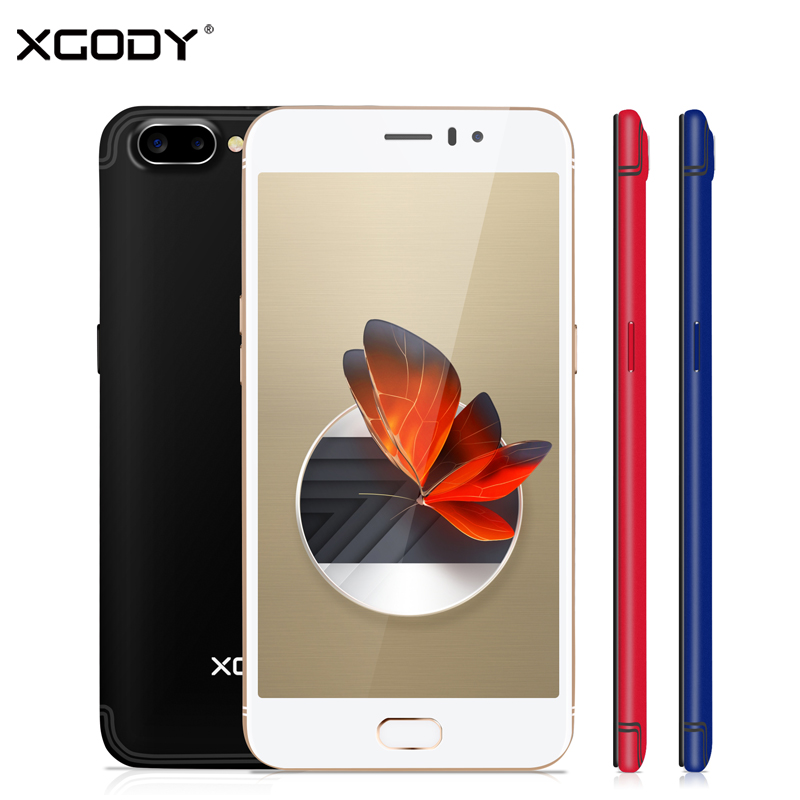 XGODY D23 3G Smartphone Touch Celular 5.5 Inch Android 5.1 MTK6580 Quad Core 1GB RAM 16GB ROM 5.0MP+13.0MP 2350mAh Mobile Phone