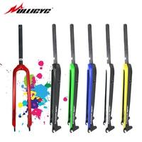 Ullicyc carbon fiber road bike Gloss MTB fork fibre forks/carbon fork road bike forks 28.6 mm 26/27.5/29 inch QC666