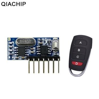 1 Botón 433 92 Mhz Inalámbrico Rf Control Remoto Controlador