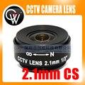"2.1mm lente CS Lente Fija IR Megapíxeles LENTE CS CCTV 1/3 ""CS 2.1mm Lente de Seguridad CCTV cámara"