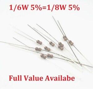 100PCS 1//4W Watt 750 ohm 750R Metal Film Resistor 0.25W 1/% RoHS