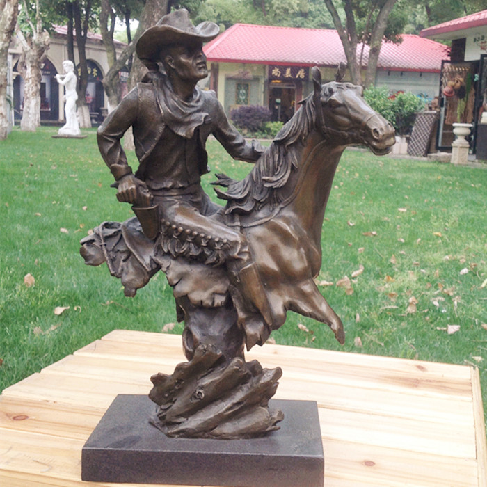 A Young Bronze Sculpture Works Of Art Like Western Characters Ornaments Home Furnishing Jewelry Gift Hotel Decor In Statues Sculptures From Garden