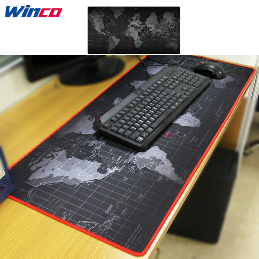 Mouse-Pad World-Map Notbook Computer Seller Fashion Old To