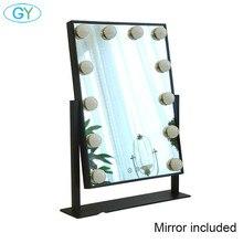 Spiegel enthalten, Touch dimmbare eitelkeit spiegel licht, hollywood make up tisch lampe, led tocadores para maquillaje lumineux coiffeuse