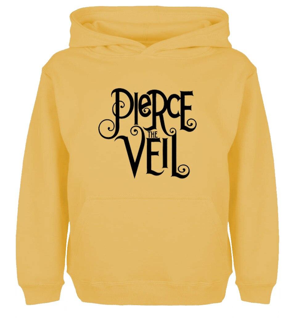 Pierce The Veil Hardcore Metalcore Design High Quality Hoodie Mens Womens Winter Cotton Sweatshirt
