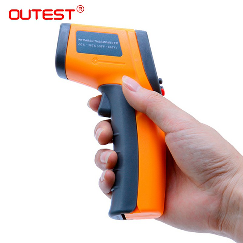 Image 4 - Digital Laser infrared thermometer Non contact IR thermometer 