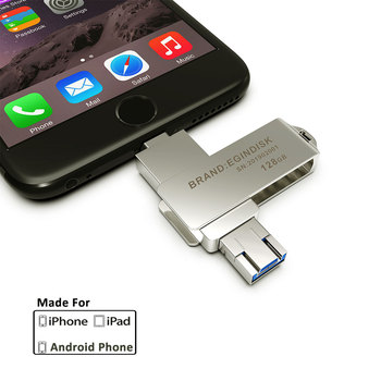 2019 New Otg Usb Flash Drive For iPhone Pendrive Micro USB / Lightning / USB For iPhone6 6S 7 7S 8 8S X XR XS Android Phone USB-флеш-накопитель