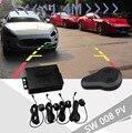 Dual Core Визуальный Автомобилей Датчик Парковки Обратный Резервный Радиолокатор для LCD DVD Монитор 22 мм Датчик Парктроник Для Видео Парковка датчики