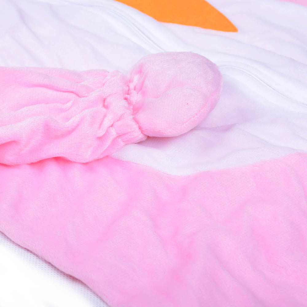 Children Baby Bunny Costume Animal Pink Rabit Love Carrot Fancy Dress Jumpsuit