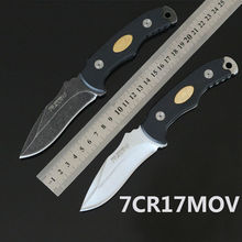 New FOX Fixed 7CR17MOV Blade Knife G10 Handle Survival Knives Hunting Tactical Knifes Camping Outdoor Tools K219