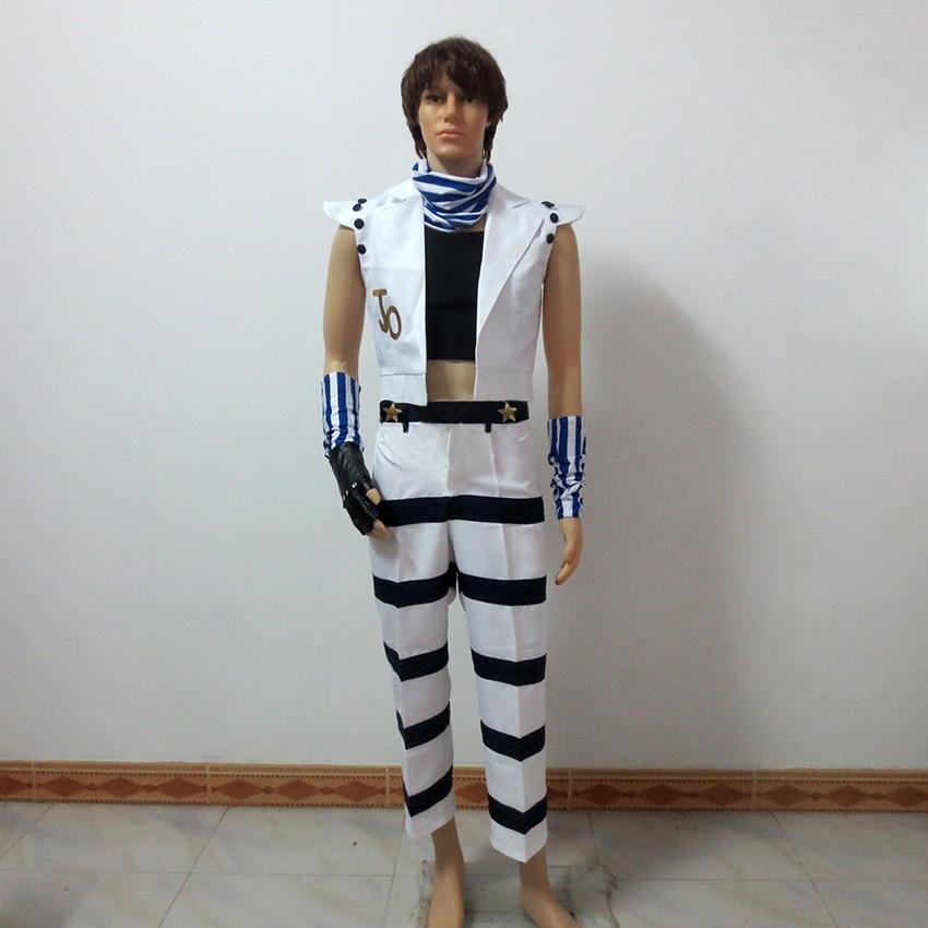 JoJo's Bizarre Adventure Cosplay Caesar Anthonio Zeppeli Halloween Uniform Outfit Cosplay Costume Customize Any Size