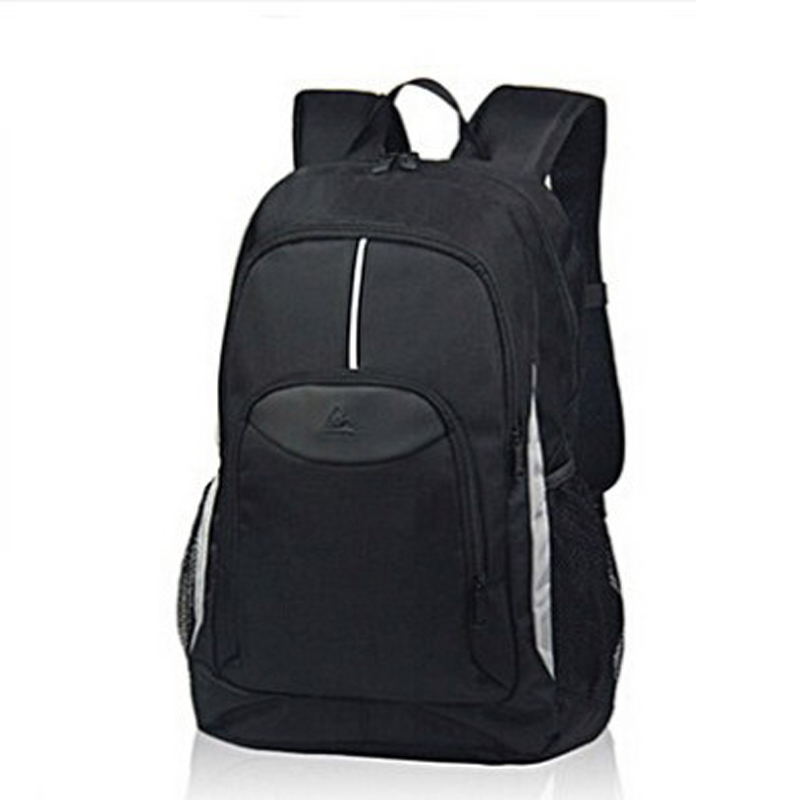 PLAYKING Black Outdoor Backpack Woman Man Travel Spotlight Nylon Rucksack Teenager School Bag Hiking Sport Bag Camping Backpack