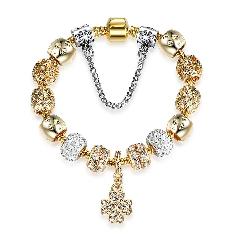 925 Silver I LOVE YOU Charm Bracelet
