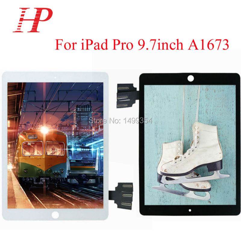 Original New Tablet 9.7inch A1637 LCD Touch Screen Digitizer Assembly For Apple Ipad Pro original new space grey silve laptop a1706 lcd assembly 2016 2017 for macbook pro retina 13 a1706 lcd screen assembly mlh12ll a