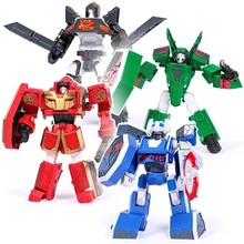 19 styles Young Toys Korea Cartoon Deformation Robot Tobot Brothers Anime Tobot Quartran Toys,Kids Toys Deformation Car Juguetes(China)