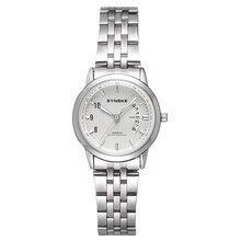 Дамы из нержавеющей стали Кварцевые Мода Автоматическая водонепроницаемые бизнес наручные часы лучшие качества datejust часы роскошные календарь роскоши
