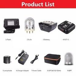 Godox AD600BM HSS 1/8000s 600W GN87 Outdoor Flash (Bowens Mount)+X1T-S Wireless Trigger For S A7 A7S A7R II A6000 A6300 CD50