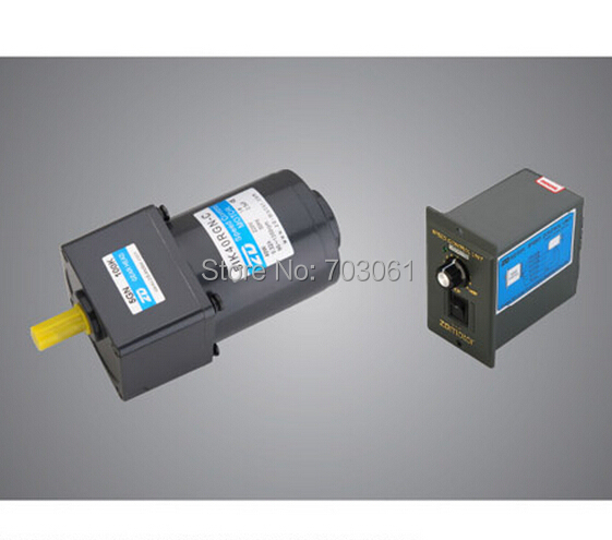 40W 60mm speed control motor with controller AC speed control gear motor ratio 50:1 Home Improvement 40w ac 220 240v 50 60hz low rpm gear reducer motor and speed controller cw ccw reverse forward motor variable speed optional