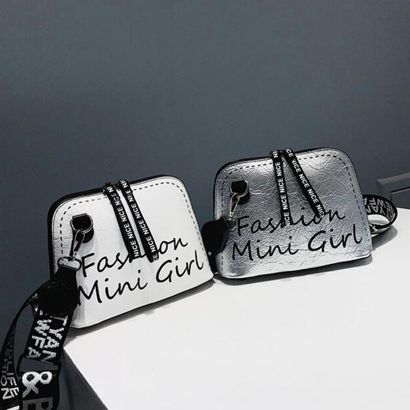 CROWDALE Women Fashion Shoulder Bag PU Leather Women Messenger Bag High Quality Wide Shoulder Strap Small Crossbody Shell Bag|Shoulder Bags|   - AliExpress