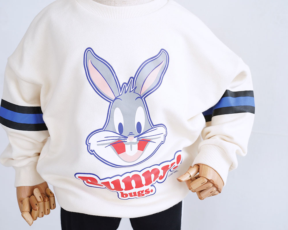 Family Sweatshirt 2018 NEW Spring Autumn Family Matching Outfits Mother Baby Father Costume Hoodies Bunny Pullover Tops HT2163