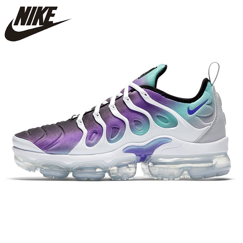 low priced ab828 5a370 Nike Air Vapormax Plus Grape TM Running Shoes Sneakers Sports for Women  924453-101 36