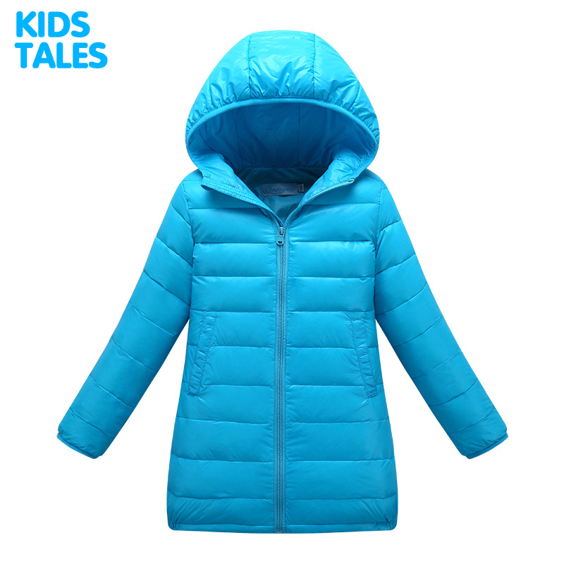 2017 Light And Thins children's Clothing boys And girls parka coats kids clothes winter jackets Down Jacket for girl Long Style girl winter coats 2018 cat printing and jackets kids outwear warm down jacket girls clothes parkas children baby girls clothing