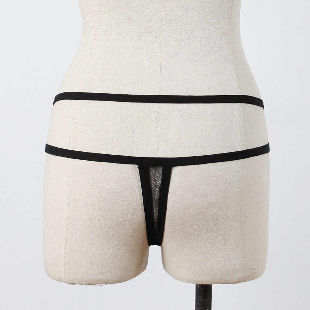 Damskie ekranowe seksowna bielizna koszulki kobiety sexy bielizna stringi figi bielizna-majtki stringi stringi figi